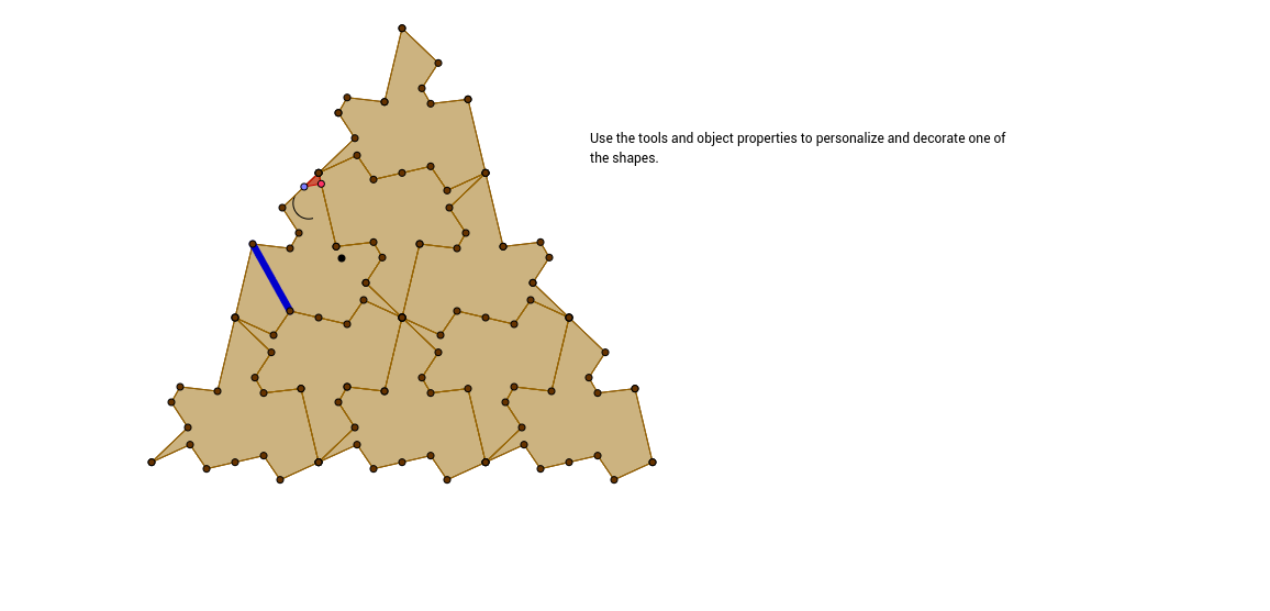 Rotation Tessellation Triangle Step 19