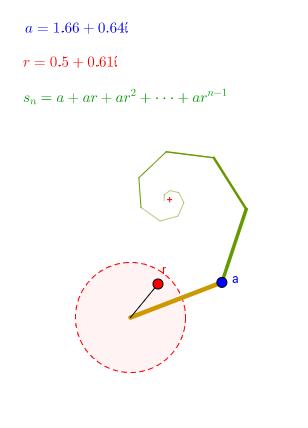 複數等比級數 (4.4)