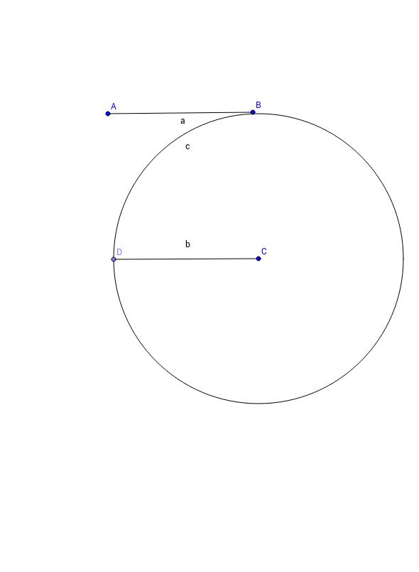 Copy a Line Segment (congruent segments)