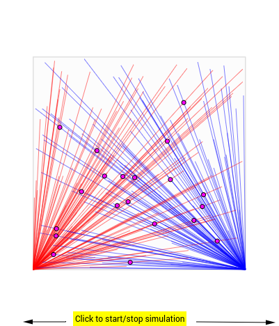 A Geometry and Probability Simulation