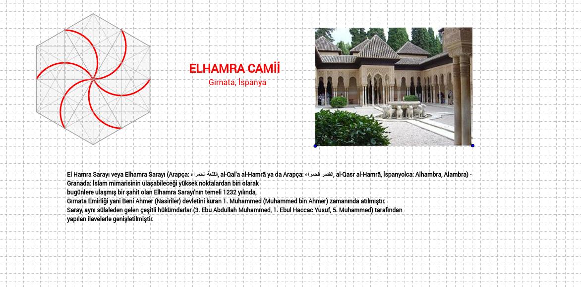 Elhamra Sarayı Motifleri..