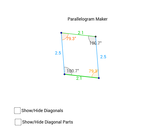 Parallelogram Maker