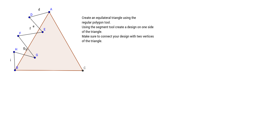 Create a Rotation Tessellation using a Triangle