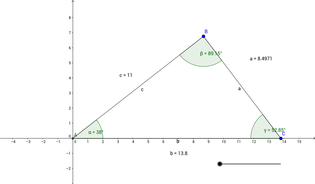 Law of Sines vs Law of Cosines GeoGebra – Law of Cosine Worksheet