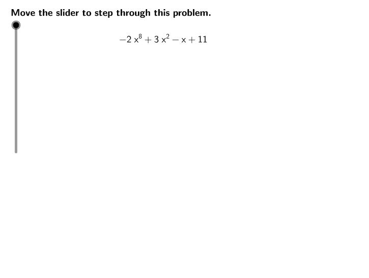 UCSS Math III 2A.1.1 Example 2