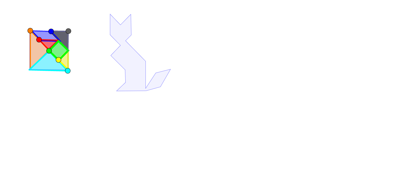 Tangram mačka 2