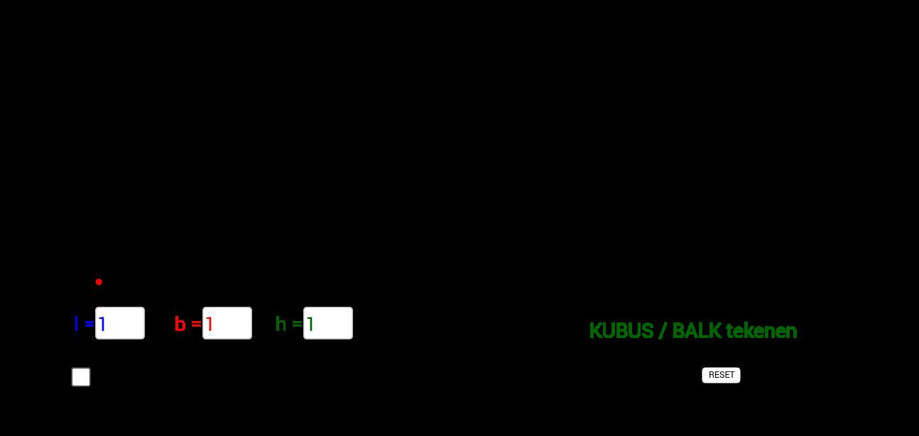 M1 WI H07 kubus & balk tekenen