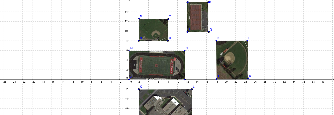 Goshen Middle Schhol Outdoor Layout
