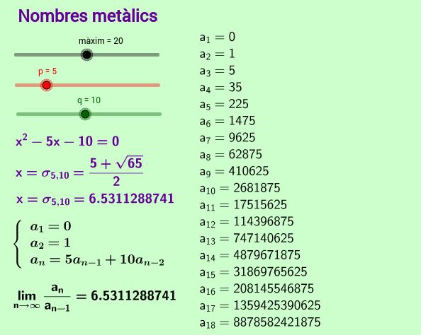 Nombres metàl·lics