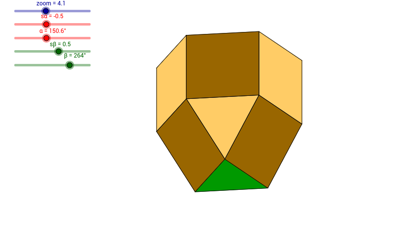 Przedziurawiona wydłużona kopuła trójkątna