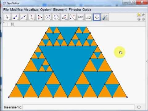 Video: triangolo di Sierpiński
