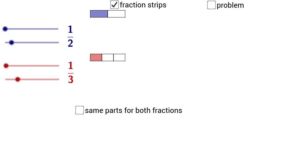 Fraction Strip Addition