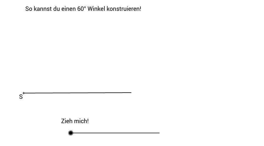Konstruktionsanleitung - 60° Winkel