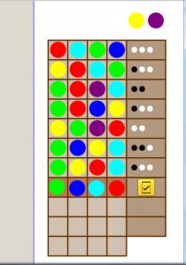 Mastermind játék