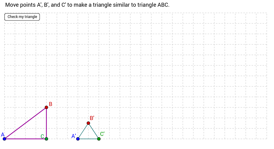 Create Similar Triangles GeoGebra – Similar Triangles Proportions Worksheet