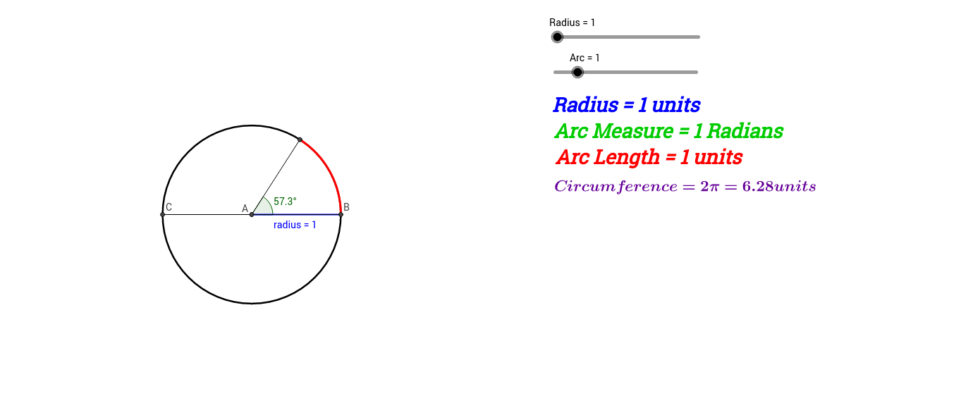 Introduction to Radian Measure