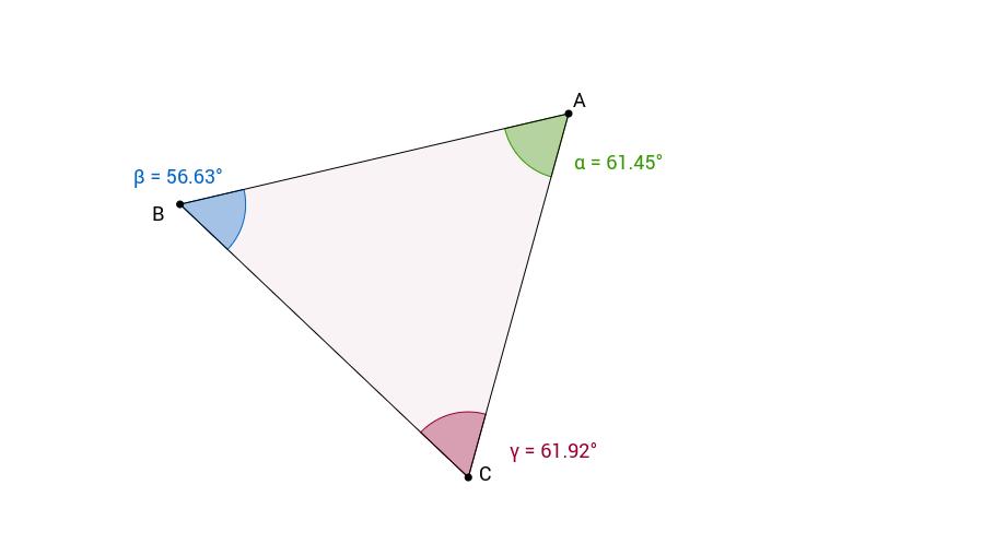 Beliebiges Dreieck