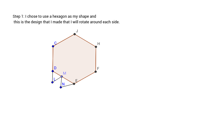 Step 1: Tesselation 1