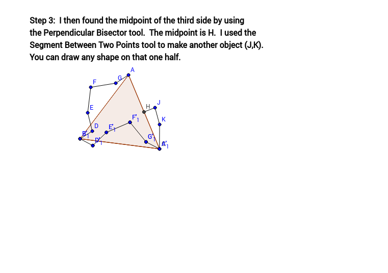 Tessellation from Triangle (Step 3)