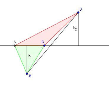Quadrangle Diagonal Area Cutting Lemma