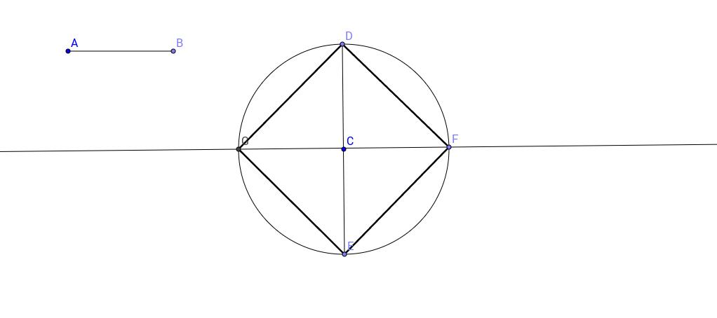Construcció d'un quadrat