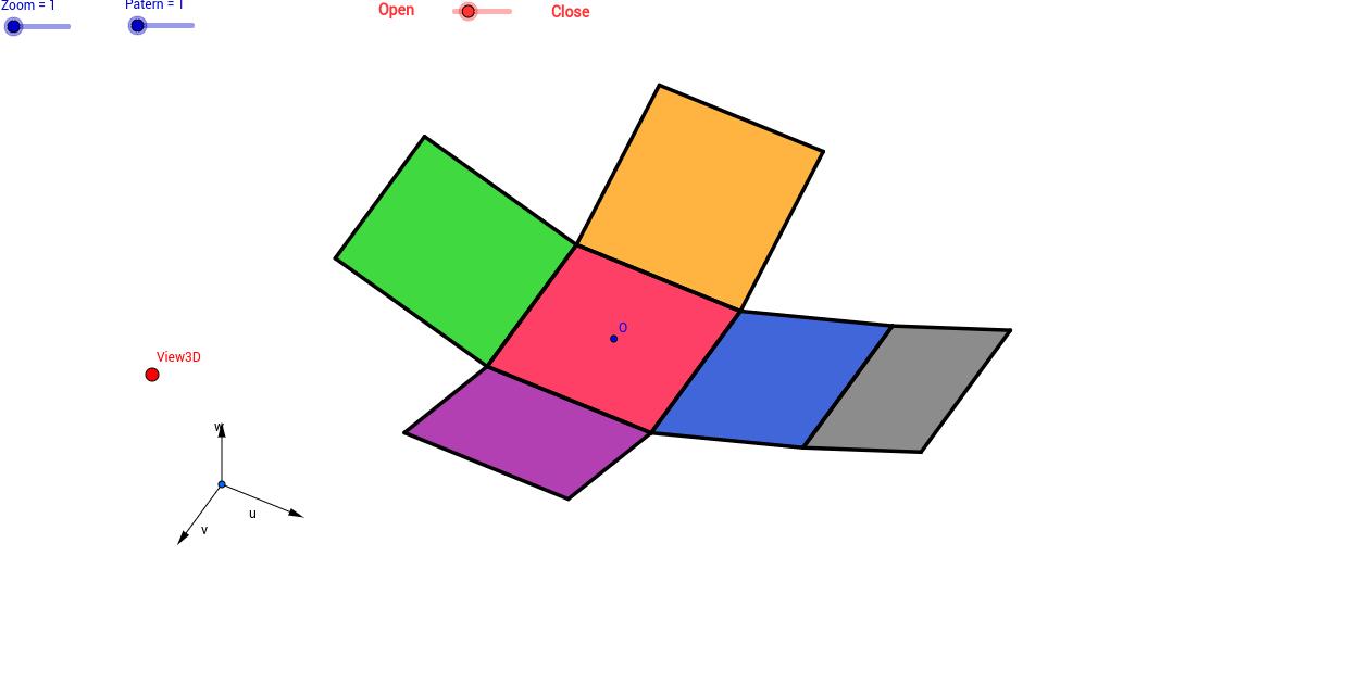Copie de Développement du cube: divers patrons