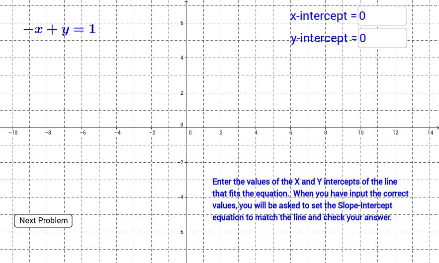 Standard Form to Slope-Intercept using graphs