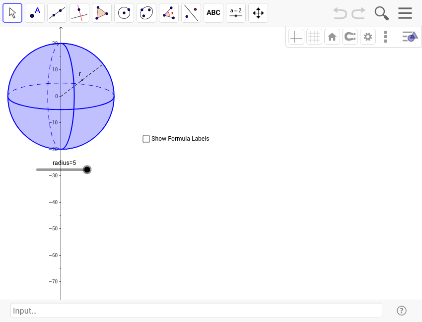 Sphere GeoGebra – Surface Area of a Sphere Worksheet