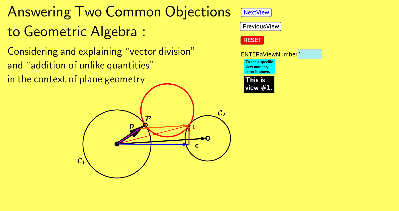 Answering Two Common Objections to Geometric Algebra