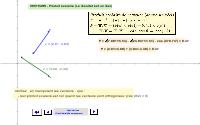 Vecteurs - Produit scalaire