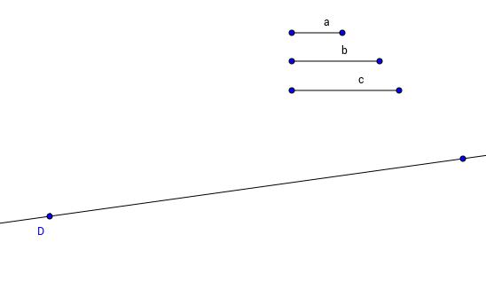Elementa I.22: Kolmion konstruointi kolmesta janasta