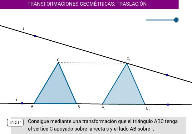 TRASLACIÓN (triángulo)