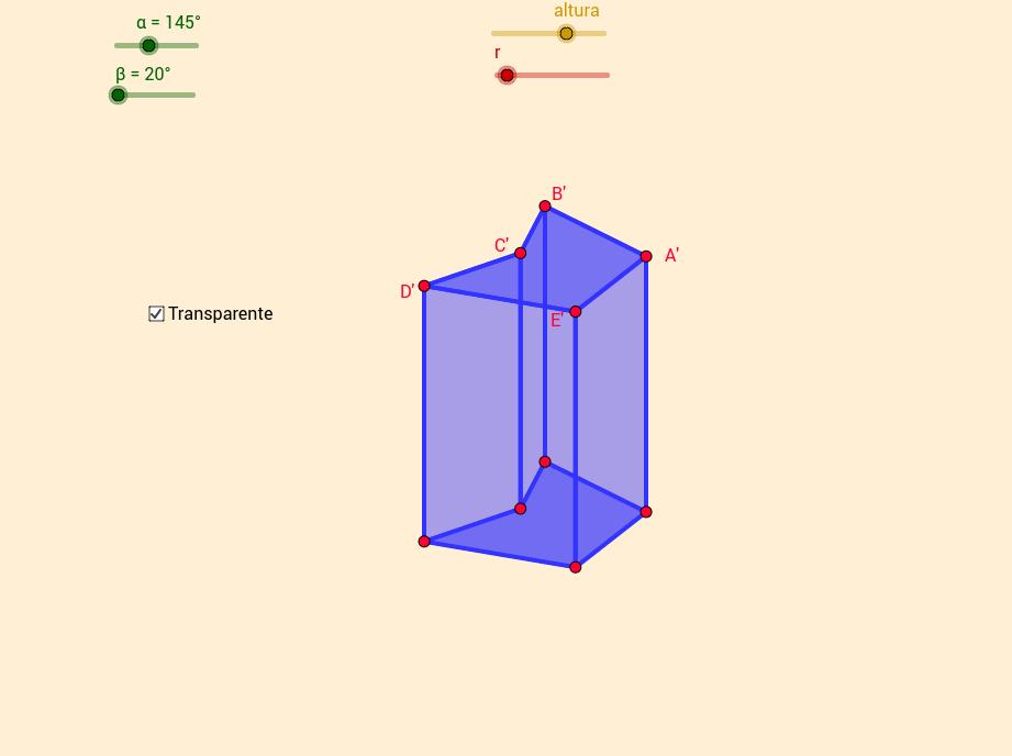 Prisma base pentagonal