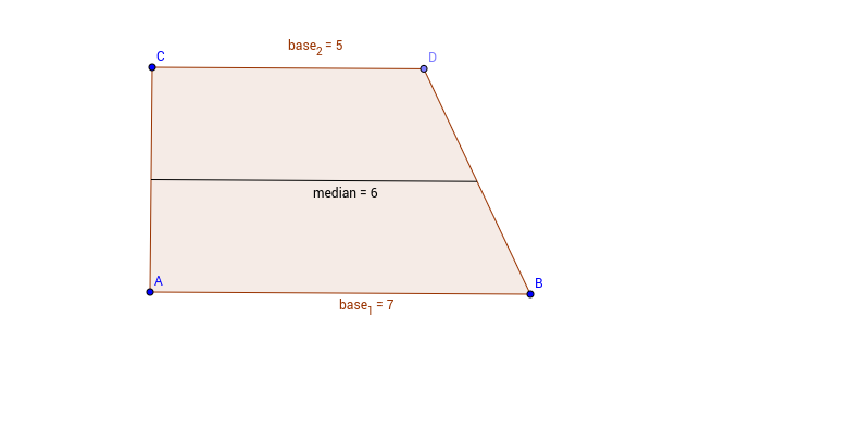 Trapezoid with Median