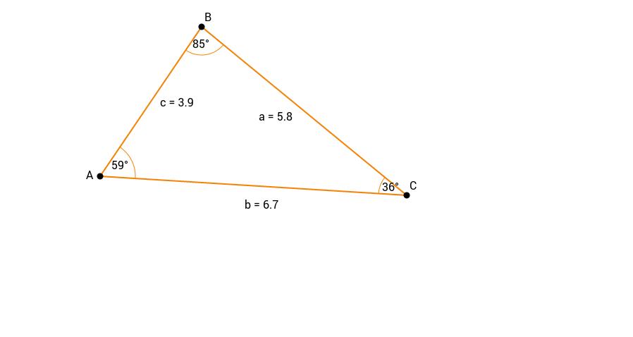 Vilkårlig trekant