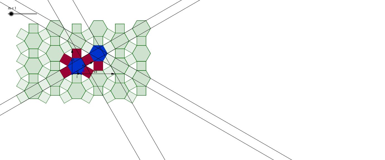 Mosaico por secuencia de traslaciones