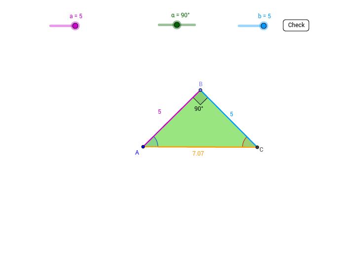 Right Triangle Exploration