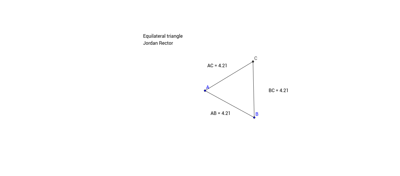 Equilateral Triangle Project GeoGebra – Isosceles and Equilateral Triangles Worksheet