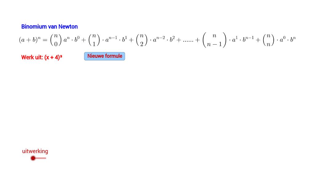 Binomium van Newton
