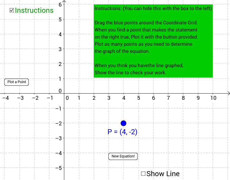 Two Variable Linear Equations