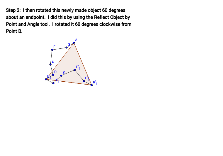 Tessellation from Triangle (Step 2)