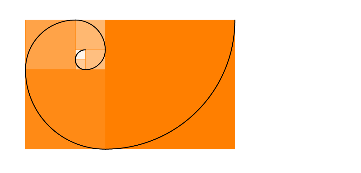 Fibonacci-spirál