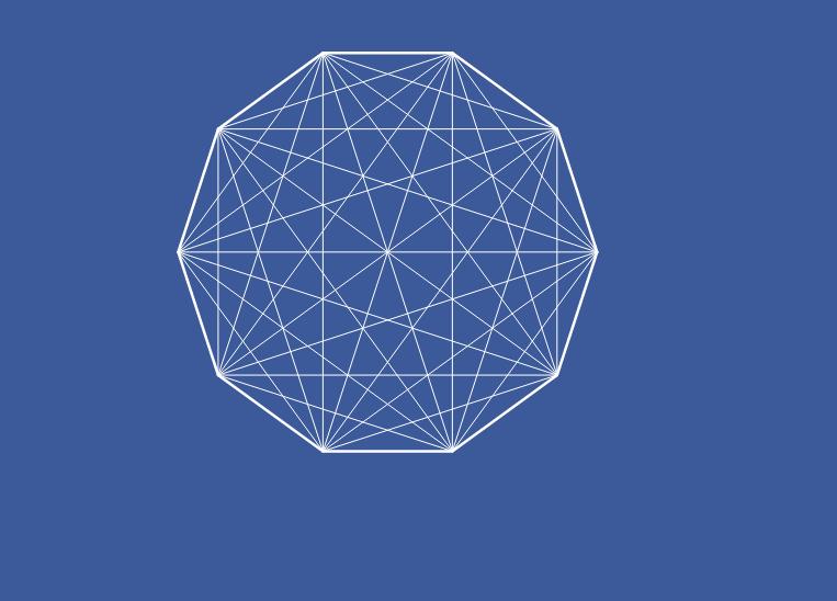 Diagonais de um polígono
