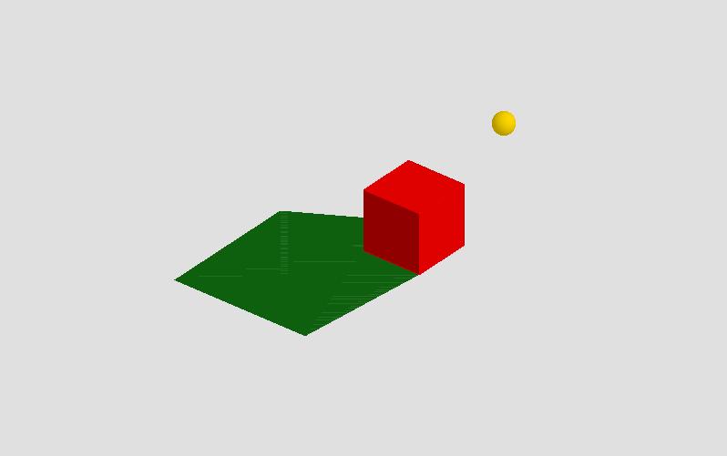 Ombra di un cubo