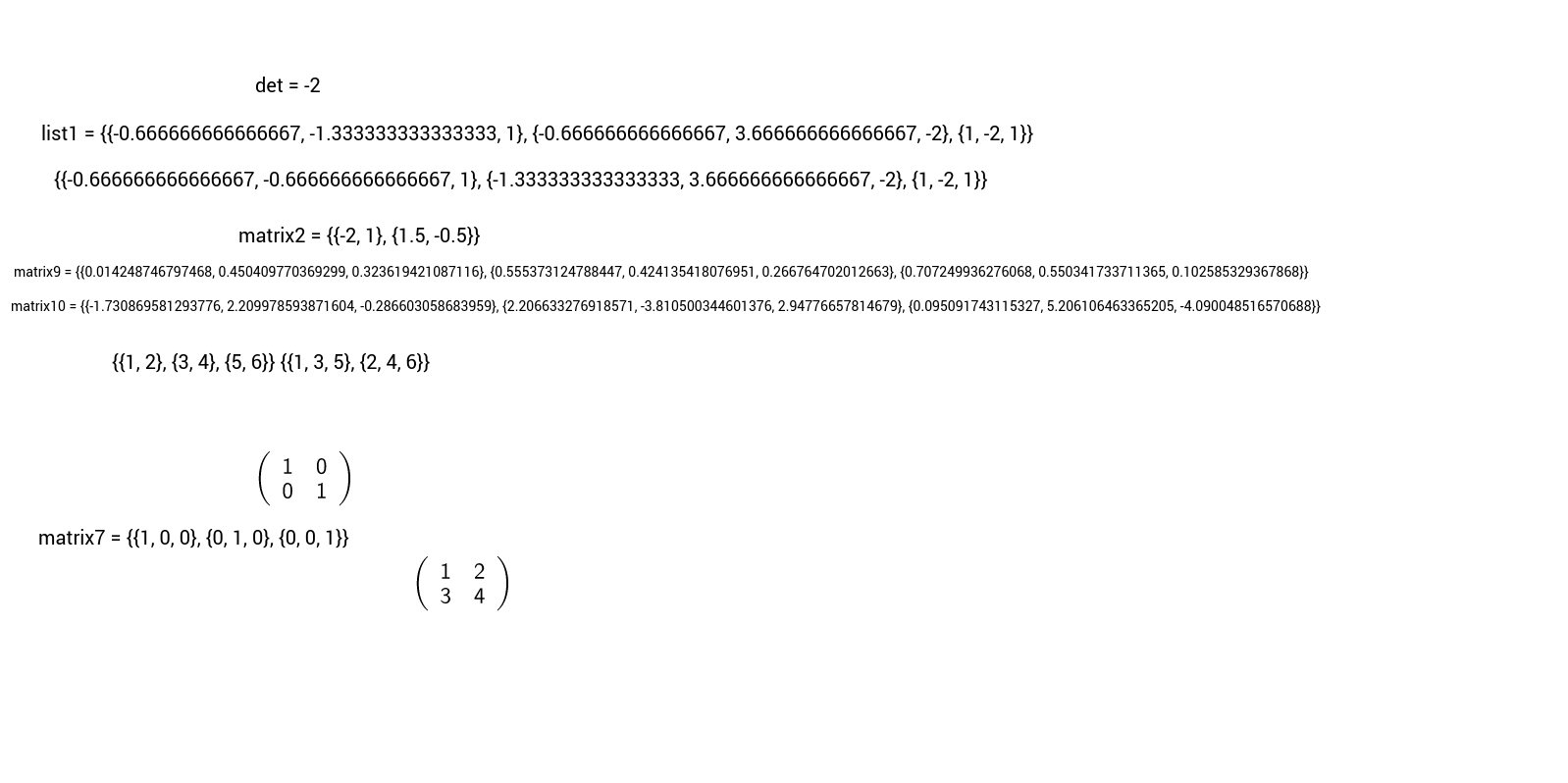 Applet Compiler matrix test