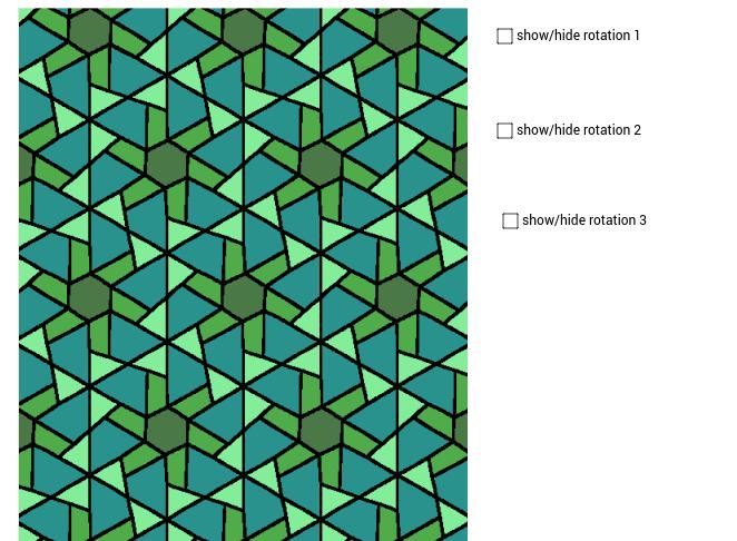Escher Symmetry - P6