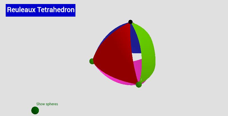 Reuleaux Tetrahedron