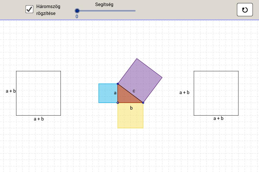 Pitagorasz-tangram 1.
