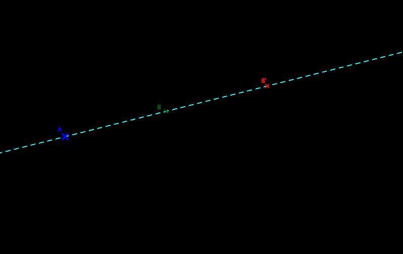 tracing image of dilation