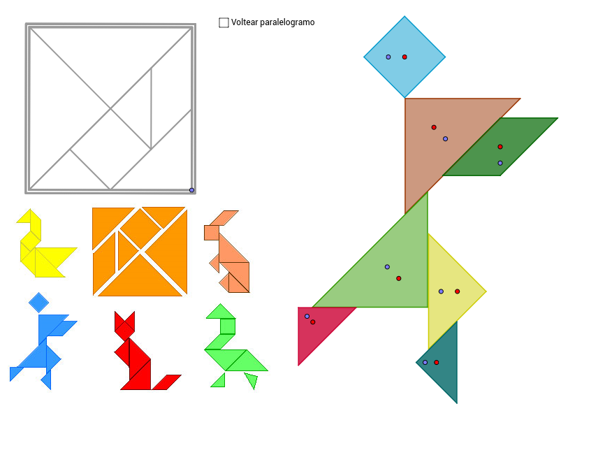 Tangram GeoGebra – Tangram Worksheet